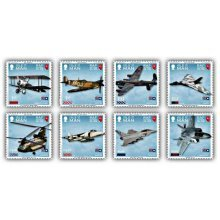 100 Years of the Royal Air Force Stamp Set Mint