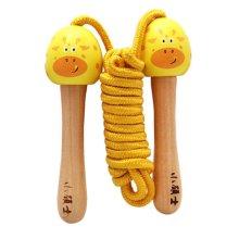 "Beautiful Jump Rope For Children Wood Handle(78.74"")"