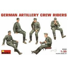Min35040 - Miniart 1:35 - German Artillery Crew Riders