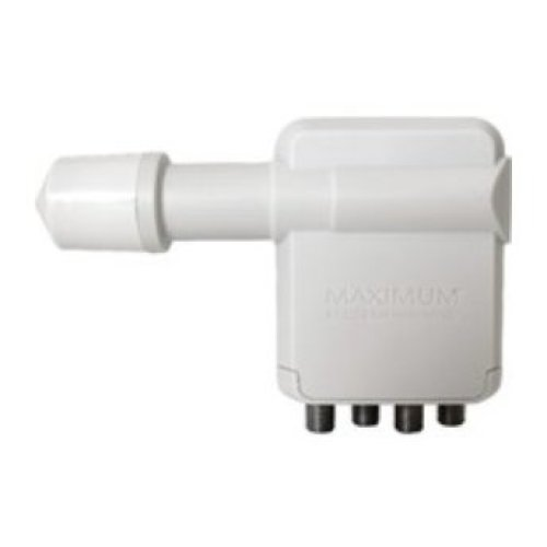 Maximum XO-R4 10.70 - 12.75GHz White Low Noise Block downconverter (LNB)