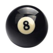 1 PCS Cue Sport Snooker USA Pool Billiard Balls 57.2 mm /2-1/4 - NO.8