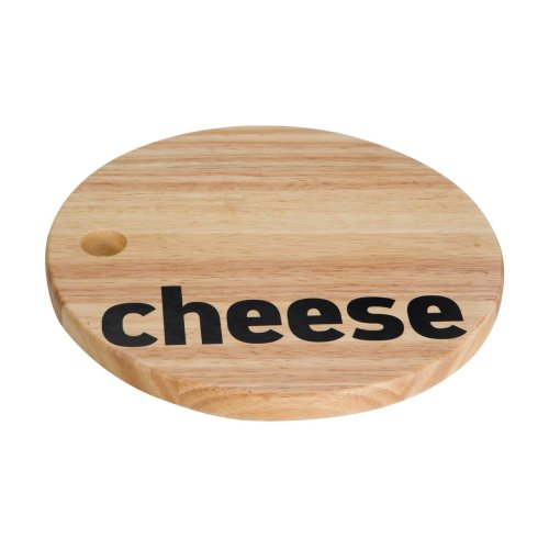Mono Cheese Board - Rubberwood
