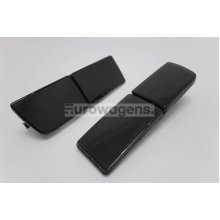Front tow eye covers set smoked VW Golf MK3 Vento 92-98