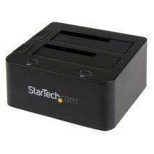 StarTech.com Universal docking station for hard drives - USB 3.0 with UASP