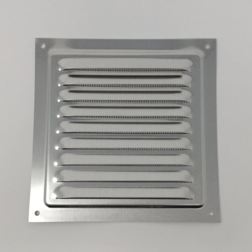 Air Vent Grill – 150 x 150 mm - Metal - Aluminium Rust Free with Mosquito / Bug Net