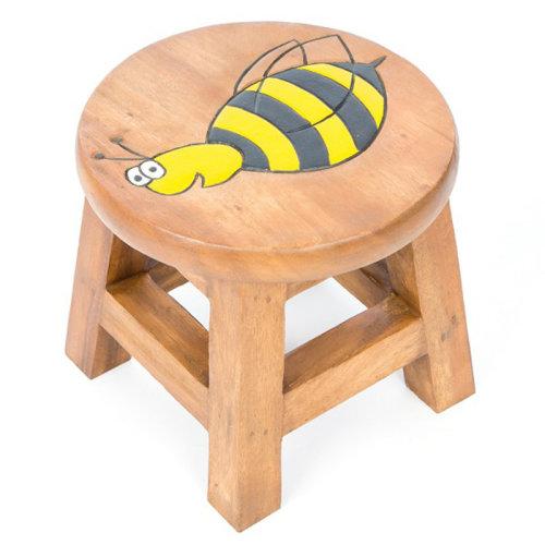 Childs Stool – Bee