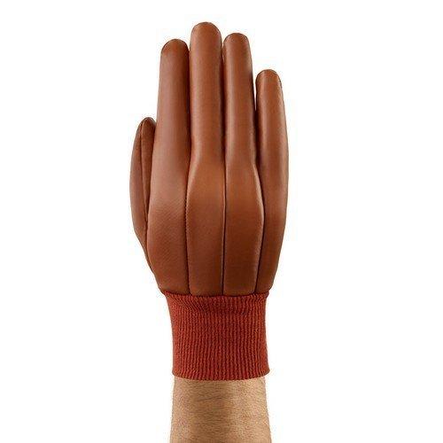 Ansell AN52-502L Hyd-Tuf Nitrile Fully Coated Knitwrist Gloves Size 9 Large