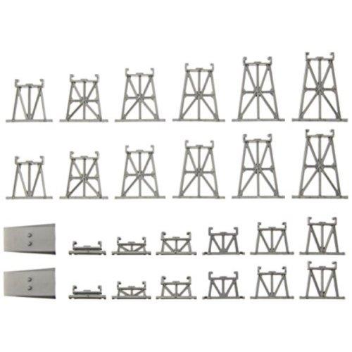 Bachmann Industries Graduated Trestle Track Set, N Scale, 26-Piece