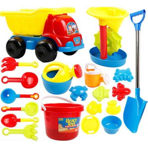 Kid's Beach Sand Toys Baths Pools Set 20PCS