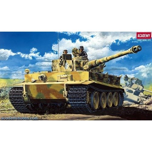 Aca13239 - Academy 1:35 - Pz.kpfw.vi Tiger I Early with Interior