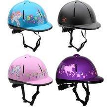 Horka VG1 Adjustable Vented CHILDS Horse Riding Helmet/HAT 48-61CM **ALL SIZES**
