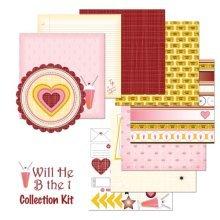 Nikki Sivils Scrapbooker Will He B the 1 Collection Kit