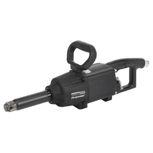 """Sealey SA687 1""""Sq Drive Air Impact Wrench Twin Hammer Straight Long Anvil"""