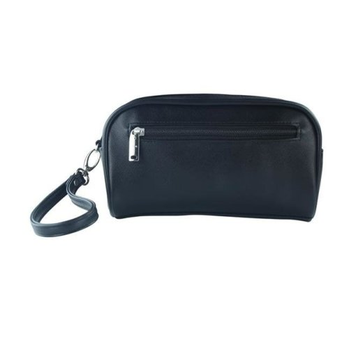 Picnic Gift 7628-BK Margarita-Insulated Cosmetics Bags with Removable Wristlet, Black Birmingham