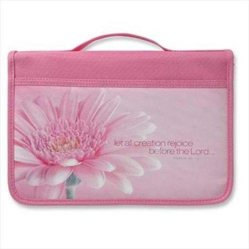 Zondervan Gifts 572210 Bi Cover Inspiration Rejoice Canvas Large Pink