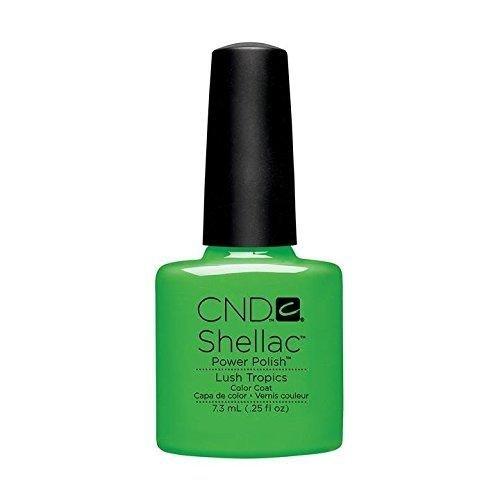 CND Shellac Nail Polish - Lush Tropics