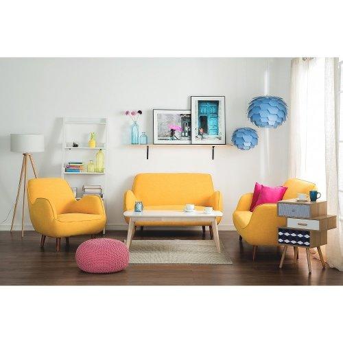 3 Seater Fabric Sofa KOUKI