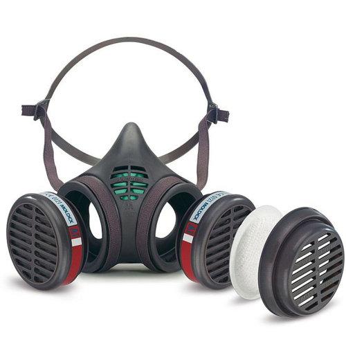 Moldex 8172 - Moldex Pre-Assembled 8000 series A1 P2 R D Medium Half Mask
