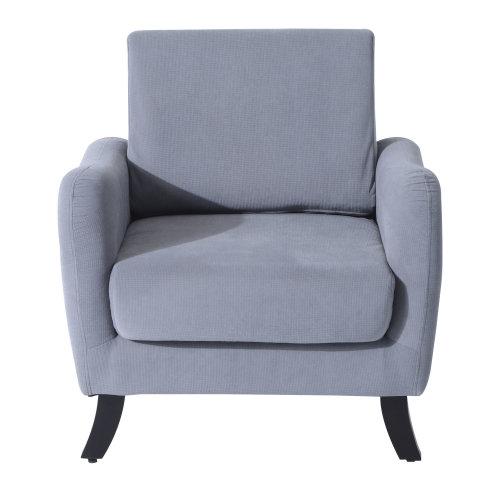 Homcom Single Sofa Arm Chair Folding in Grey