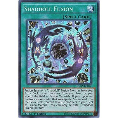 Yu-Gi-Oh! - Shaddoll Fusion (DUEA-EN059) - Duelist Alliance - 1st Edition - Super Rare