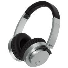 Groov-e Fusion Wired or Wireless Bluetooth Headphones - Silver (GVBT400SR)