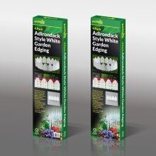 32 x Adirondack Style Flexible Plastic Garden Border Edging Lawn Grass Edge Panel
