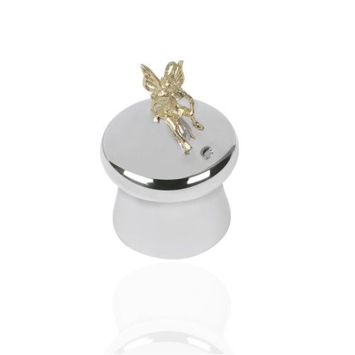 edf6f68baeb4d 925 Sterling Silver Tooth Fairy Mushroom Tooth Box. Christening Gift.