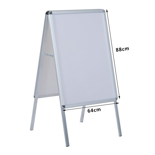 Homcom A1 Poster Stand A-board Display Aluminum Frame Board