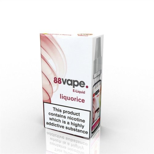 88 Vape E-Liquid Nicotine 11mg Liquorice 10ML