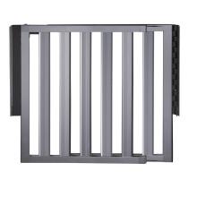 Lindam Numi Aluminium Stair Gate - 66-101cm | Extending Baby Stair Gate