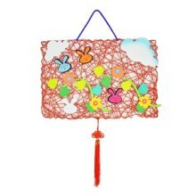 Beautiful Hand Made Nursery Decorations for Kids DIY Paper Cloth Hangings