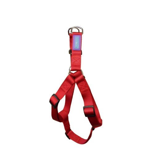 "3/4"" x 24"" Red Nylon Dog Harness - Co 19mm X76cm Hemmo Walking Accessories -  dog co nylon harness red 19mm x76cm hemmo walking accessories harnesses"