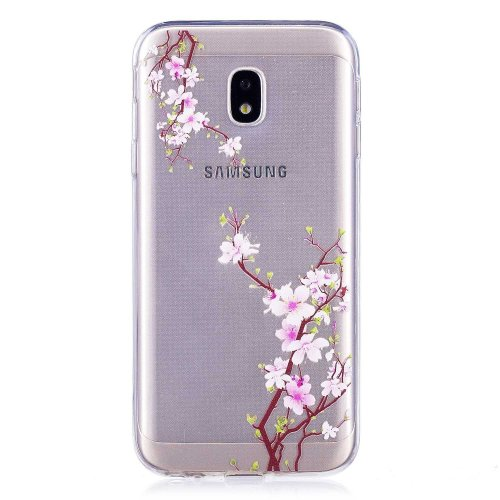 DENDICO Galaxy J3 2017 Case, Ultra-Thin TPU Soft Cover Case for Samsung Galaxy J3 2017, Transparent Clear Case for Galaxy J3 2017...