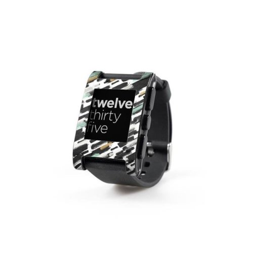DecalGirl PWCH-BRUSHIN Pebble Watch Skin - Brushin Up