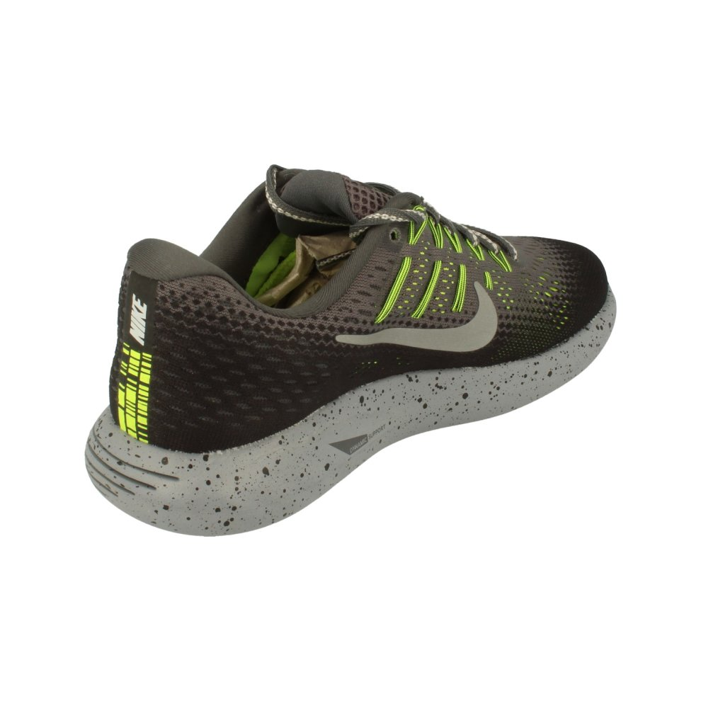7ef7fb2a2a ... 1 Nike Womens Lunarglide 8 Shield Womens Running Trainers 849569  Sneakers Shoes - 2 ...