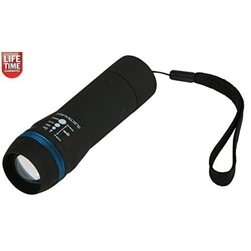 Electralight 1w LED Zoom Torch - Super Bright Hiking Camping Pocket Function -  super bright hiking camping led zoom torch pocket 1w function size