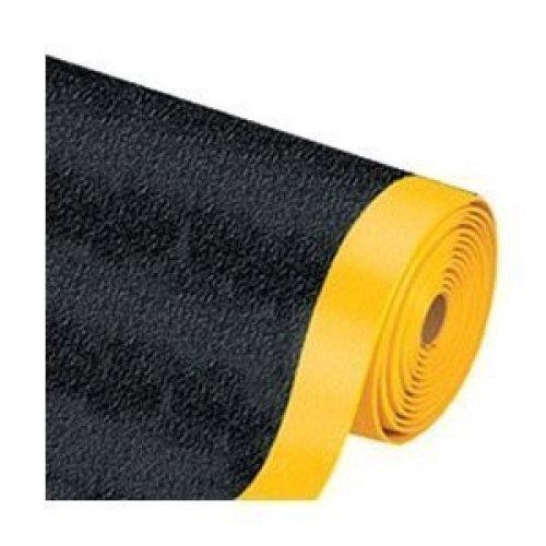 Pebble Step Sof-Tred MAT253BY Premium Anti-Fatigue Mat, 2 x 5, Black/Yellow