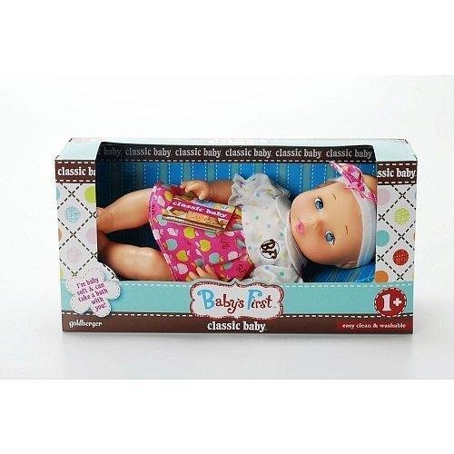 Babys First Classic Baby Doll