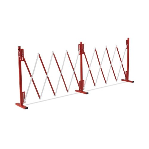 Armorgard Barricade Expandable Concertina Safety Barrier Red & White 4000x300x950mm