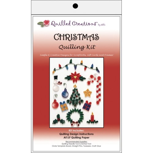 Quilled Creations Quilling Kit-Christmas