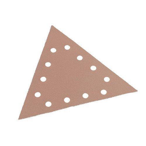 Flex Power Tools 348.589 Sanding Paper Hook & Loop Triangle 220 Grit Pack of 25