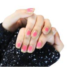 24 Pcs Stylish and Charming Pre-designed False Nails Art for Girls, Blush Style
