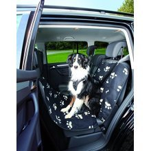 Trixie Car Seat Cover, 0.65 × 1.45 M, Black/beige - Cover Blackbeige 065 145 M -  trixie car cover blackbeige seat 065 145 m 13235 protection various