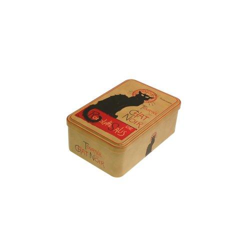 French Classics 18 x 12 x 7 cm Chat Noir Metal Box