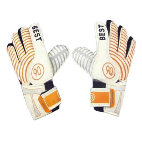 Best Breathable Adults Football Receiver Gloves, (Orange/White, M)
