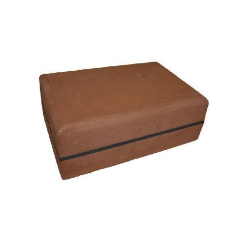 Pilates Accessory TPE Time-proof Yoga Tile Pilates Block Yoga Brick Brown