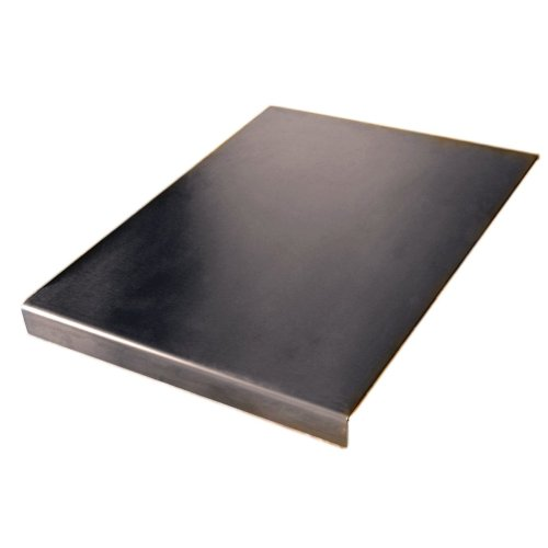 Stainless Steel Worktop Saver Chopping Square Edge See all Variation sizes (Includes non slip rubber feet) (500 x 500 square fold)