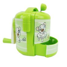 Cute Rice Cooker Manual Pencil Sharpener for Office and Classroom (Green)