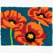 D72-73892 - Dimensions Needle Felting - Art: Poppies