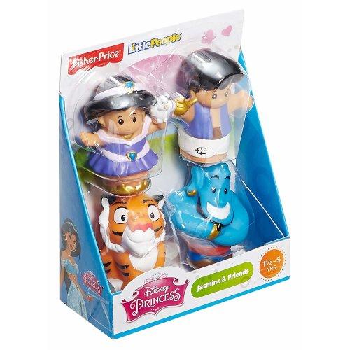 Disney Princess Jasmine & Friends (Fisher-Price) Little People